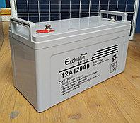 Аккумуляторная батарея 12V 120Ah Exclusive, фото 1
