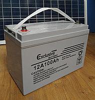 Аккумуляторная батарея 12V 100Ah Exclusive, фото 1