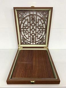 Плакетка МДФ в деревянной коробке