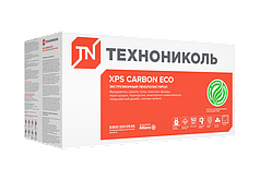 XPS CARBON ECO плотность кг/м³ - 25 - 27 (1180*580*20)мм
