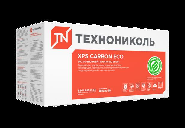 XPS CARBON ECO плотность кг/м³ - 25 - 27 (1180*580*20)мм, фото 2