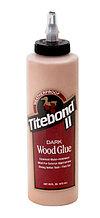 Клей для темных пород дерева Titebond Dark Wood Glue 473 мл