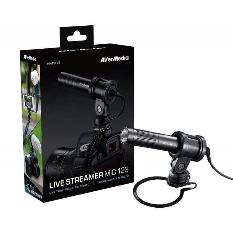 Микрофон Live Streamer MIC AverMedia AM133