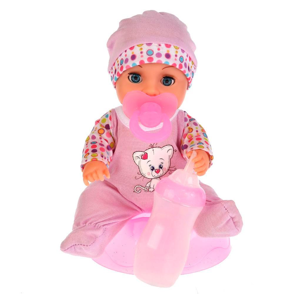 Интерактивная кукла Танечка, пьет и писает, 20 см.