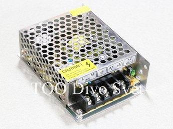 Блок питания 12 В 2 A. Блоки питания для светодиодных лент, видео наблюдения. Адаптеры питания 12v  24 w