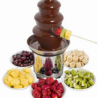 Фонтан шоколадный 45 см. Большой 4 яруса