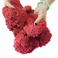 Кинетический песок 1 кг (Красный), Россия