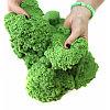 Кинетический песок 1 кг (Зеленый), Россия