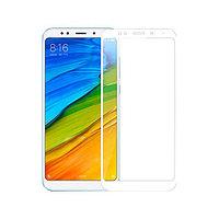 Защитное стекло Full screen PowerPlant для Xiaomi Redmi 5, White
