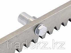 NICE ROA8 оцинкованная зубчатая рейка М4 с комплектом крепежа