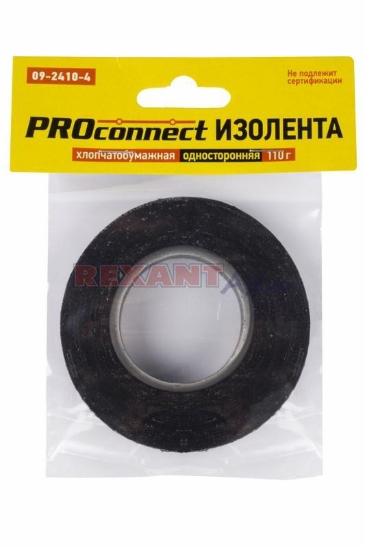 Изолента ХБ PROconnect 20 х 0,35 мм, (ролик 11,1 м/110 г) ( 09-2410-4 )
