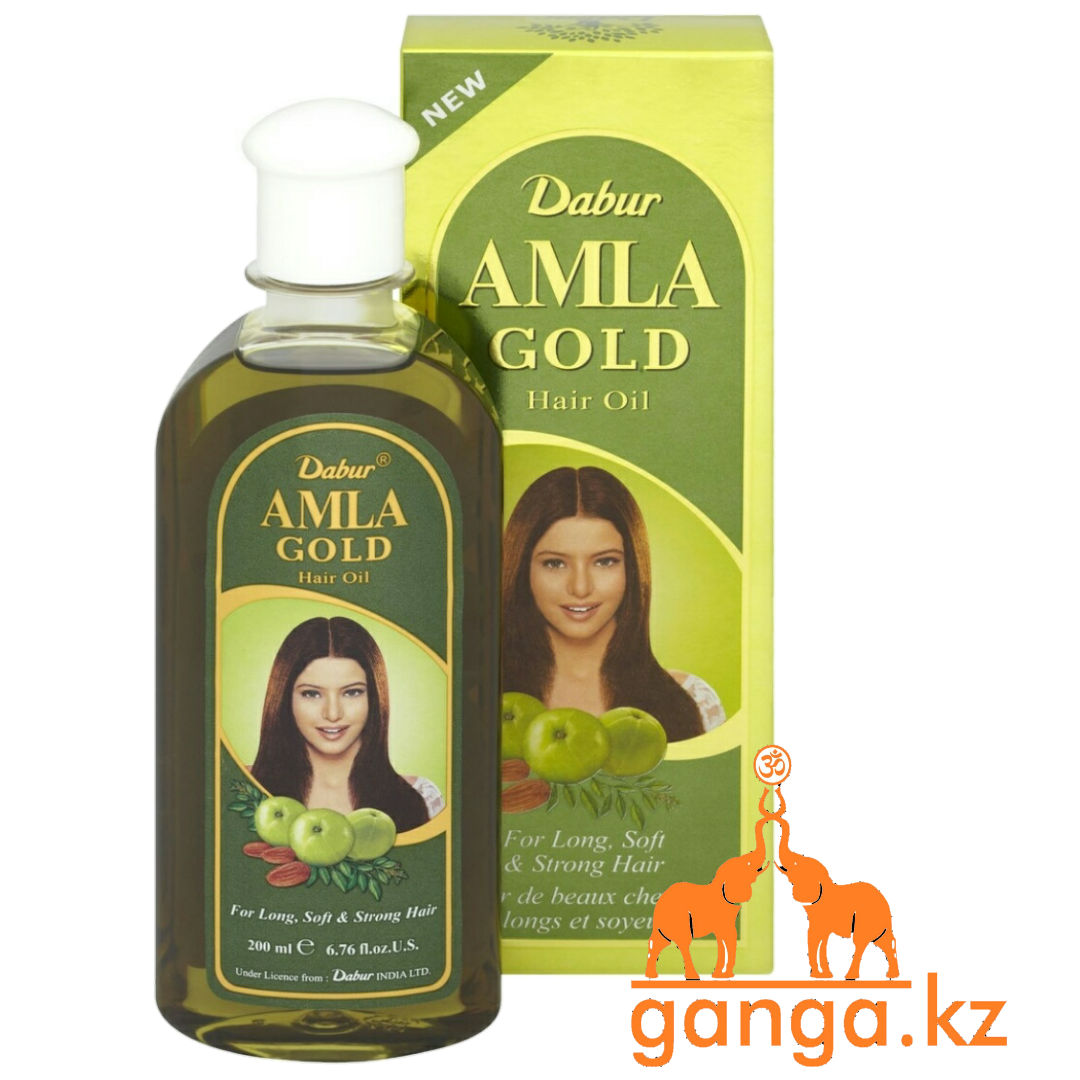 Масло для волос Амла Голд Дабур, Amla Gold Hair oil DABUR 200 мл