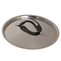 Крышка металлическая 20 см., Barazzoni Silicon pro inox (28512102080)