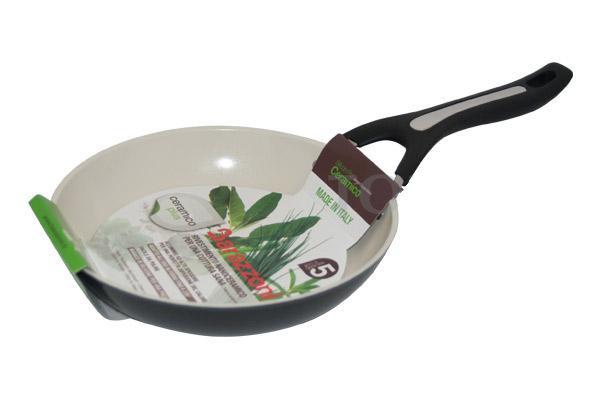 Сковорода керамическая 26см/2,19л Barazzoni Silicon pro ceramico (84710602680)