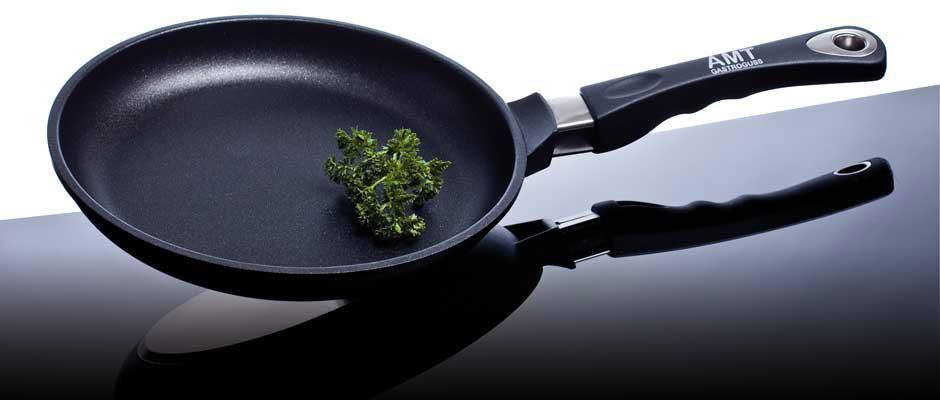 Сковорода 28 см., с титановым покрытием, литой алюминий, AMT gastroguss Германия 428AMT