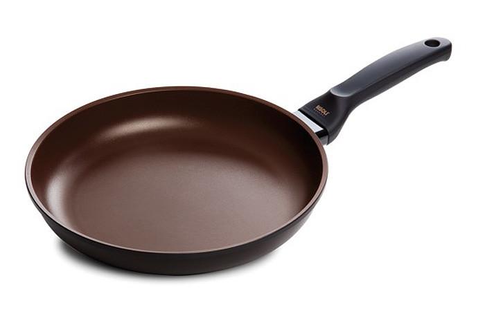Сковорода 24 см., керамика, литой алюминий 7мм, индукция, RISOLI PLUS+hibrid-br 00103PIN/24B