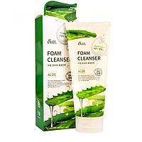 Ekel Foam Cleanser Aloe Увлажняющая Успокаивающая Пенка для Умывания с экстрактом Алоэ 180 мл