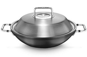 Сковорода Вок 31 см., 35 см., с крышкой luno® Fissler, Германия 056 806 31 000