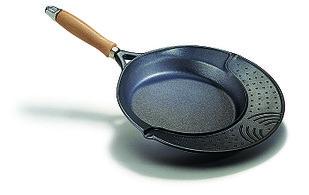 Сковорода 32 см., литой алюминий 6мм, RISOLI Cosmopan, Autograph DuPont 000116/32TP0