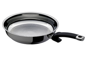 Сковорода 24 см., ind. crispy steelux premium Fissler, Германия 121 400 24 100