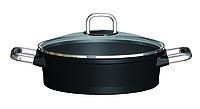 Сотейник 28 см., с крышкой, индукция, RISOLI Gusto Teflon Platinum DuPont 01099GUIN/24 01099GUIN/28