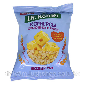 Безглютеновые Чипсы кукурузно рисовые цельнозерновые сыр 50гр dr korner