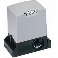 FAAC 109780 740 электромеханический привод для откатных ворот весом до 300 кг