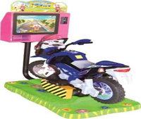 "Качалка ""Мотоцикл"" с видеоигрой"