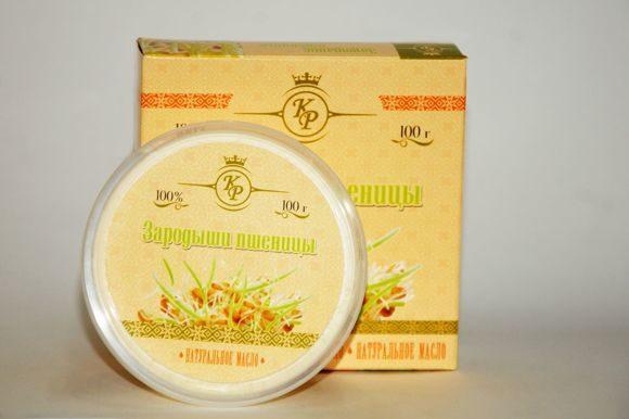 Масло зародышей пшеницы, косметическое жирное масло, 100гр