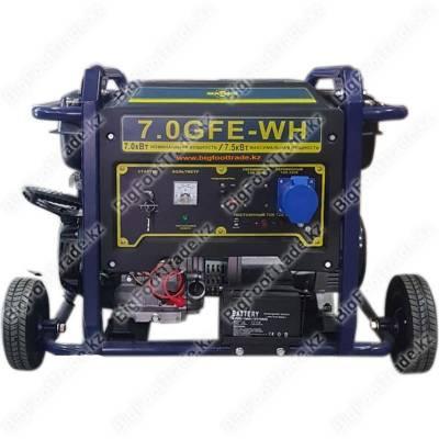Генератор однофазный  бензиновый 7.5 кВт  7,0GFE-WH