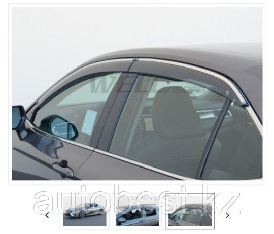 Дефлекторы боковых окон на Toyota Camry 70 Оригинальные Тойота Камри 70. Даём гарантию на 2 года.