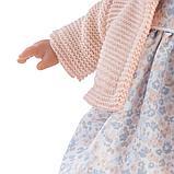 LLORENS: Кукла Рита 33см, брюнетка в розовой курточке и цветочном платье 33104, фото 5