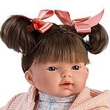 LLORENS: Кукла Рита 33см, брюнетка в розовой курточке и цветочном платье 33104, фото 2