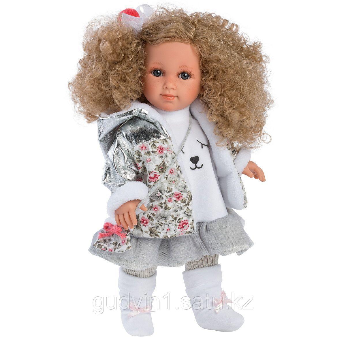 LLORENS: Кукла Елена 35см, блондинка с кудрявыми волосами 1102608