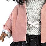 LLORENS: Кукла Зури 35см, мулатка в розовом жакете и черной кружевной юбке 53526, фото 4
