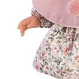 LLORENS: Кукла Лючия 40см, блондинка в розовой пелерине 1102612, фото 4