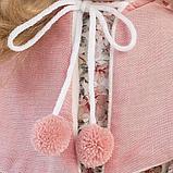 LLORENS: Кукла Лючия 40см, блондинка в розовой пелерине 1102612, фото 6