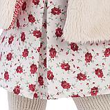 LLORENS: Кукла Мартиная 40см, шатенка в мехавом жилете и шапочке 54026, фото 5