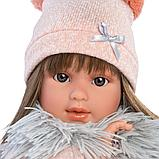 LLORENS: Кукла Лети 40см, брюнетка в меховой накидке 1102614, фото 4