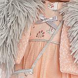 LLORENS: Кукла Лети 40см, брюнетка в меховой накидке 1102614, фото 5