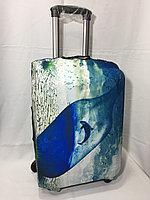Чехол на маленький дорожный чемодан Wenger. Высота 57 см, длина 36 см, ширина 24 см., фото 1