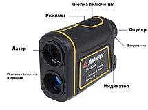 Лазерный дальномер для охоты SNDWAY SW-1000A, фото 3