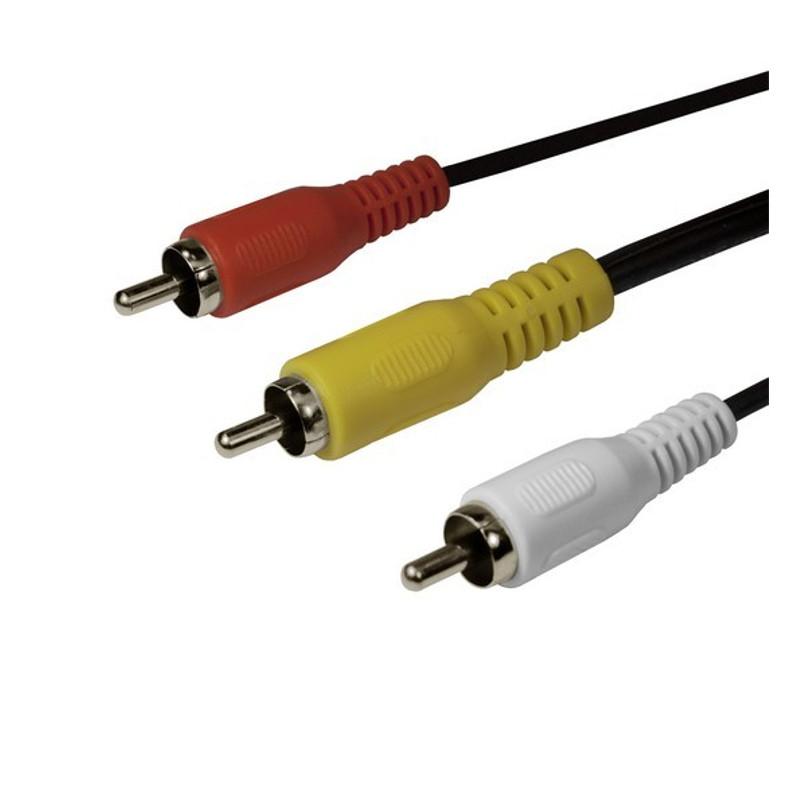 """Интерфейсный кабель SHIP """"тюльпанчики"""" SH8053-3P (3м)"""