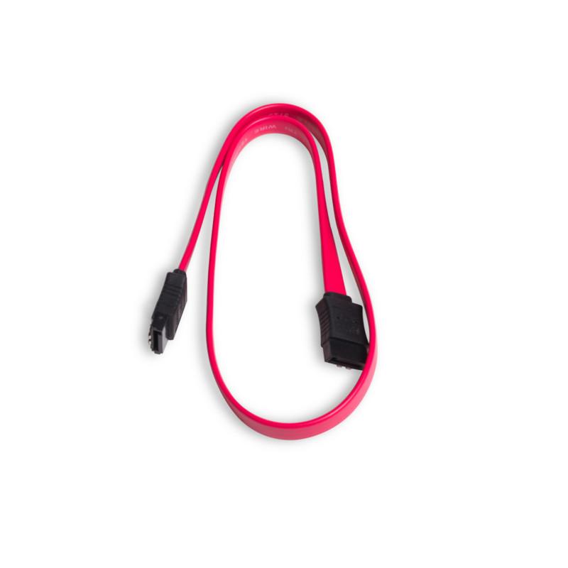 Интерфейсный кабель iPower iPiS SATA 26 AWG Красный