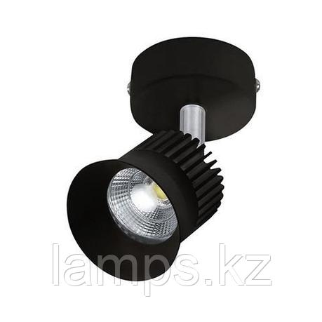 Светильник на шину, трековый, потолочный, светодиодный BEYRUT 5W черный 4200K, фото 2