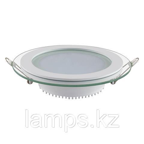 Панель светодиодная встраиваемая круглая CLARA-12 12W белый 4200K
