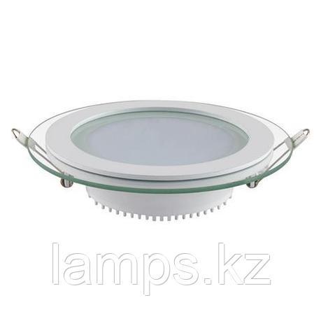 Панель светодиодная встраиваемая круглая CLARA-12 12W белый 4200K , фото 2