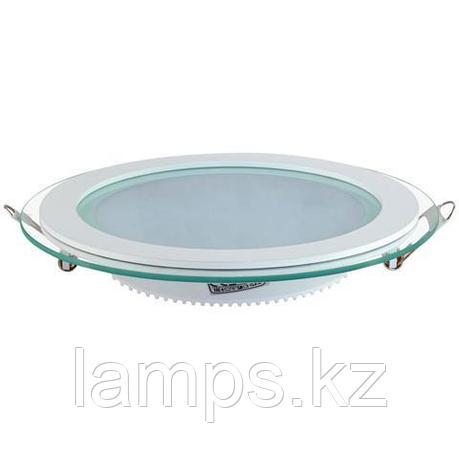 Панель светодиодная встраиваемая круглая CLARA-15 15W белый 4200K , фото 2