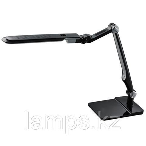 Настольная лампа,светодиодная EBRU 10W черная с клипсой