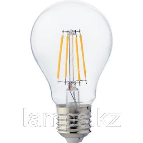 Светодиодная Лампа Эдисона декоративная FILAMENT GLOBE-4 4W 4200K, фото 2